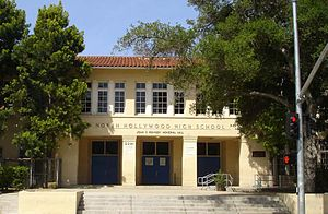 Valley Village, Los Angeles - North Hollywood Senior High School