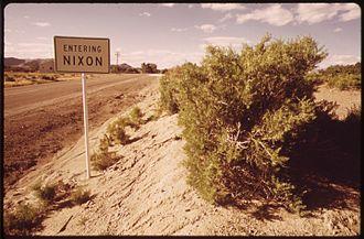 Nixon, Nevada - Nixon, 1973