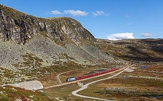 Bergen Line railway line