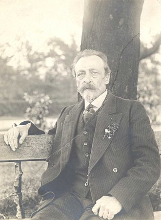 People's Rights Party - N.S. Tyutchev (1856-1924) as he appeared in 1910. Tyutchev was among those arrested by the Okhrana's coordinated raids of April 24, 1894.