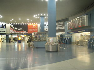 NY Penn Station Amtrak Terminal