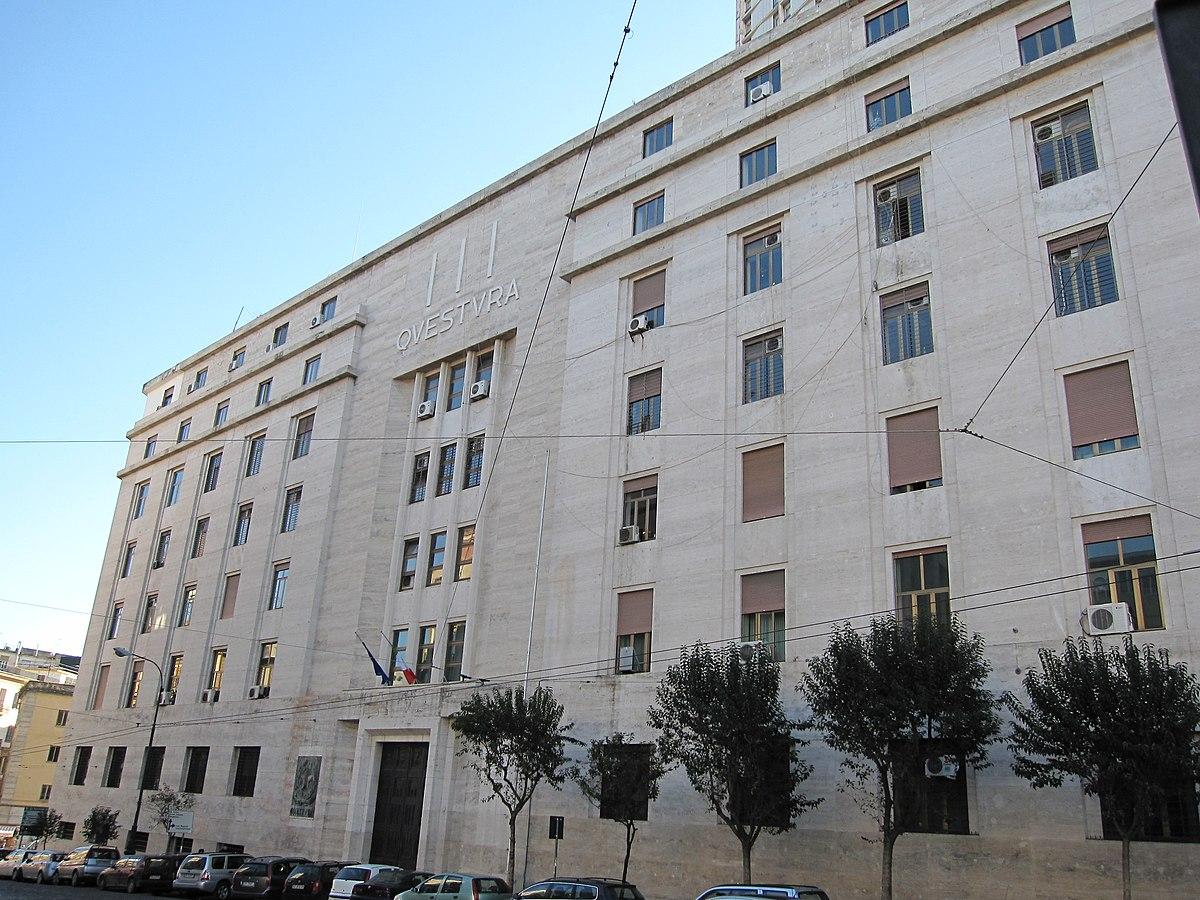 Palazzo della questura napoli wikipedia for Questura napoli permesso di soggiorno