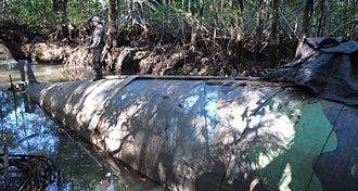 Drug policy - Narco submarine seized in Ecuador