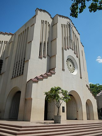 Our Lady of Perpetual Help - The National Shrine of Our Mother of Perpetual Help (also called Baclaran Church) is one of the Philippines' largest Marian shrines. It is authorised by the Holy See to remain open 24 hours a day throughout the year.