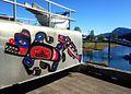 Native art at the dock in Hoonah, Alaska.jpg