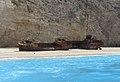 Navagio Beach Shipwreck.JPG