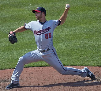 Neal Cotts - Cotts with the Minnesota Twins in 2015