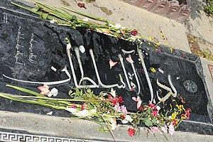 Death of Neda Agha-Soltan - Neda Agha-Soltan's gravesite in Beheshte-Zahra, 2011