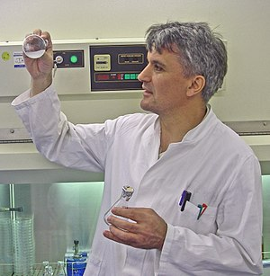 Nediljko Budisa - Ned in a TUB Laboratory in 2012
