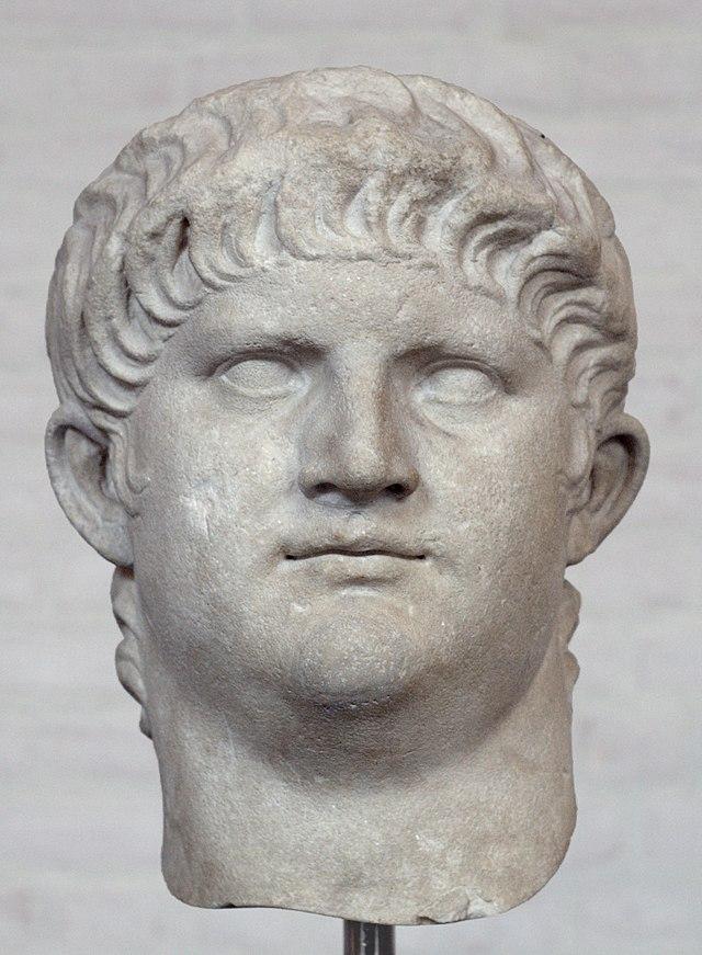 Busto del emperador Nerón