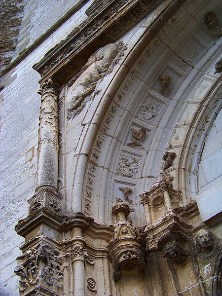 Église Saint-Symphorien de Neuvy-Sautour, détail du portail nord
