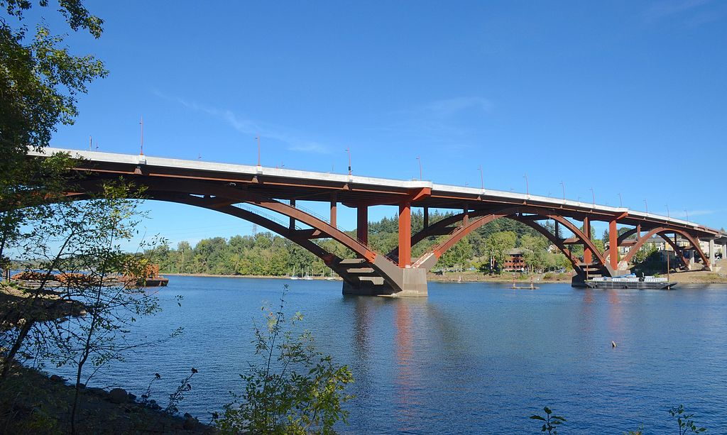New Sellwood Bridge in September 2016