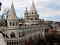 News Reports Bastion from south part of Fisherman's Bastion, 2013 Budapest (292) (13228410944).jpg