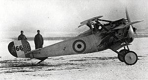 Nieuport 17 - Nieuport 17 triplane undergoing evaluation