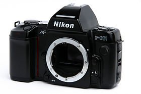 Image illustrative de l'article Nikon F801