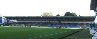 Ninian Park - The Grange End, taken in 2009