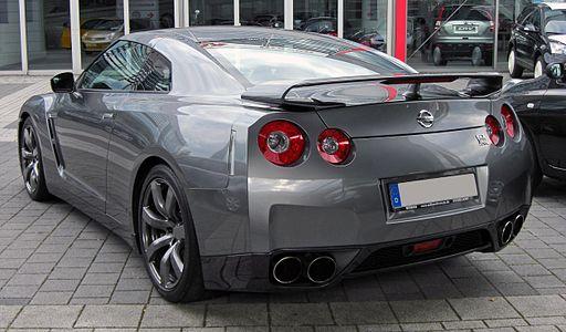 Nissan GT-R 20090614 rear