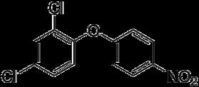Strukturformel von Nitrofen