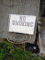 No Smoking sign in Metro Manila, Philippines.JPG
