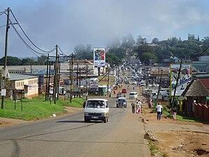 Nongoma - Street in Nongoma