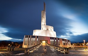 Northern Lights Cathedral - Image: Nordlyskatedralen Alta