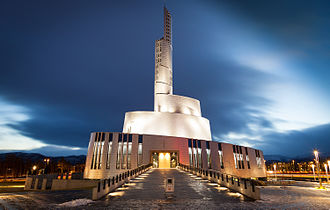 Northern Lights Cathedral - Image: Nordlyskatedralen Alta