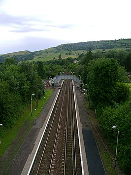 North Clyde Line from Erskine Bridge - geograph.org.uk - 1388805.jpg