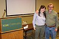 North Dakota State University Wikipedia workshops, Jami and Jim.JPG