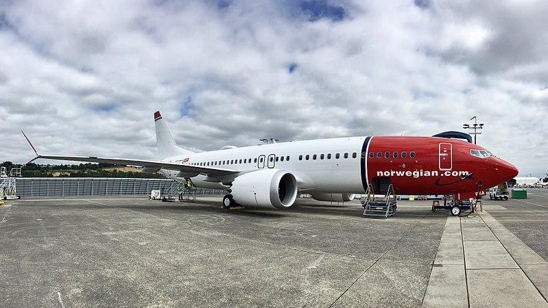 File:Norwegian Air International, Boeing 737-8 MAX, EI-FYA.jpg