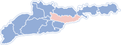 Location of Novoselicjas rajons