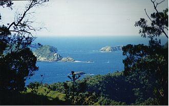 Kermadec Islands - View from Raoul Island