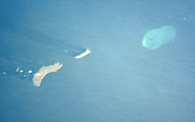 Photo satellite des îles Eiao et Hatutu et du motu One