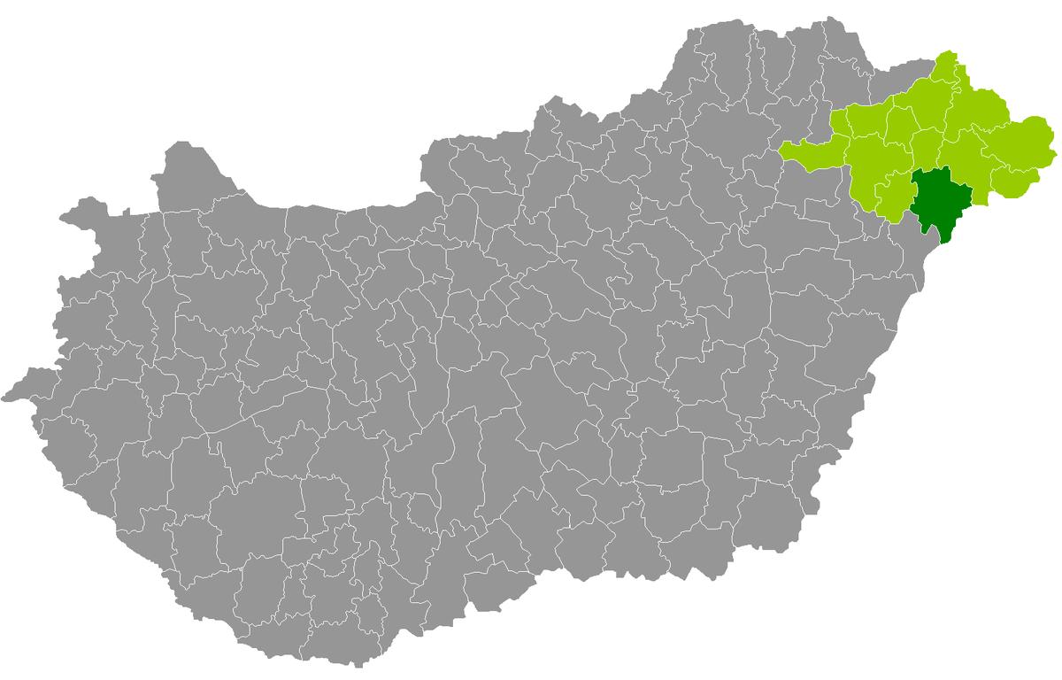 nyírbátor térkép Kreis Nyírbátor – Wikipedia nyírbátor térkép
