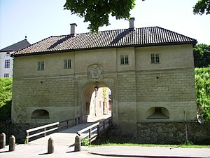 Nyköping Castle - Nyköping Castle, west side entrance, 'gatehouse'
