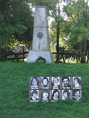 Fergal O'Hanlon - Image: O'hanlon monument