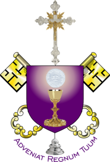 Modern redesign of the Old Catholic Apostolic Church coat of arms.