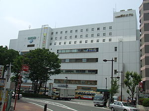 Hon-Atsugi Station - Station building (south side)