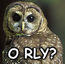 O RLY? — Википедия