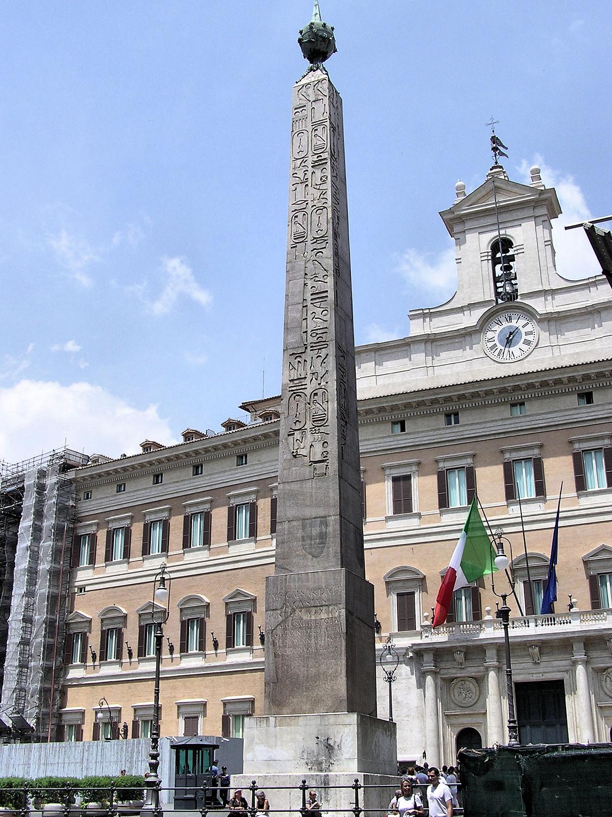 obelisco de montecitorio wikipedia la enciclopedia libre