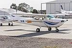 Oberon Aviation Services (VH-JQQ) Cessna R172K Hawk XP at Wagga Wagga Airport.jpg