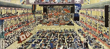 kabuki theatre essay Although it started out as just another type of dance, kabuki eventually emerged  into an important and fascinating theatre where elaborate makeup and.
