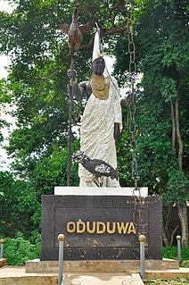 Oduduwa Yoruba deity
