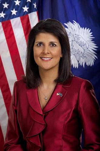 Nikki Haley - Haley's official gubernatorial portrait