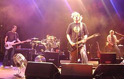 The Offspring live in Charlotte am 20. September 2008