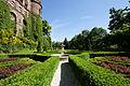 Ogrody z fontanną na tarasach Książa.jpg