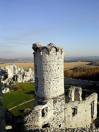 Ogrodzieniec - Tower of Ogrodzieniec Castle