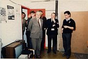 The old YSTV Studio in Physics