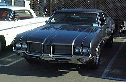 1972 Oldsmobile Cutlass 4-4-2