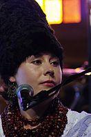 Olena Tsibulska (DakhaBrakha) (Haldern Pop 2013) IMGP6659 smial wp.jpg