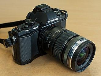 Olympus OM-D E-M5 - Image: Olympus OM D E M5